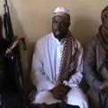 Abubakar Shekau, chef de Boko Haram, et ses sbires islamistes