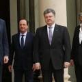 L'oligarque ukrainien Porochenko reçu par François Hollande grâce à BHL en mars 2014..