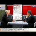 Elections européennes, affaire Bygmalion, François Hollande : Marine Le Pen sur BFMTV-RMC (27 mai 2014)