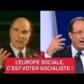 Europe sociale :35 ans de billevesées socialistes ! (15 mai 2014)