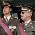Juan Carlos, intrônisé Roi d'Espagne par la seule volonté du général Franco...