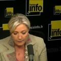 Marine Le Pen sur france Info (02 juin 2014)