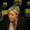 Marine le Pen sur France Info : première entrevue depuis l' « affaire de la fournée » (25 juin 2014)
