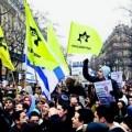 La LDJ participe ouvertement aux manifestations communautaires juives initiées par le CRIF...