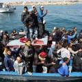 Lampedusa,  la porte d'entrée pour une immigration esxponentielle d'une Europe devenue totalement folle et suicidaire...