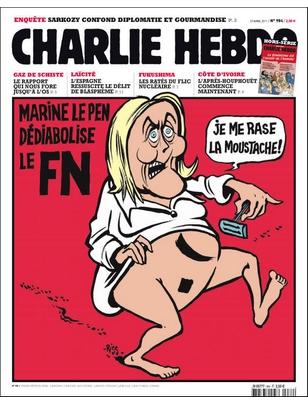 Marine Le Pen par Charlie 1