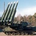 Missiles anti aériens russes système buk que possède l'armée ukrainienne près de Donetsk