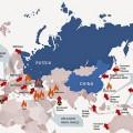 Plus que jamais, l'OTAN encercel la Russie et la Chine...
