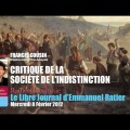 Francis Cousin invité d'Emmanuel Ratier : Critique de la société de l'indistinction (février 2012)