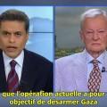 Même Zbigniew Brzezinski condamne l'attaque israélienne sur Gaza ! V.O. sous-titrée (23 juillet 2014)