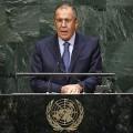 Lavrov à la tribune de l'ONU