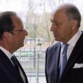 François Hollande et Laurent Fabius ont pris avec une
