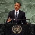 Obama dans son numéro de super menteur cynique à la tribune de l'ONU...