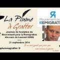 Journée de fondation du Mouvement pour la Remigration – Discours de Laurent Ozon (21 septembre 2014)