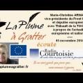 Actualité européenne et nationale avec Marie-Christine ARNAUTU (05 novembre 2014)