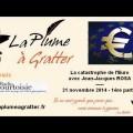 La catastrophe de l'Euro – Avec Jean-Jacques Rosa (21 novembre 2014)