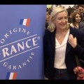 Marine Le Pen au Salon du Made in France (16 novembre 2014)