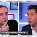 Robert Ménard, plébiscité par les Biterrois, mais passé à la question par l'accusateur public Patrick Cohen (25 novembre 2014)