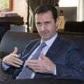 Bachar El Assad lors de son entrevue avec Paris Match