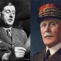De Gaulle Pétain