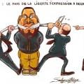 La france, le pays de la liberté d'expression à deux vitesses !
