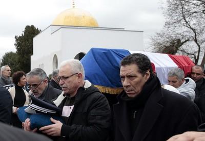 Obsèques d'Ahmed Merabet