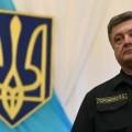 Petro Porochenko à Marioupol en Ukraine, entre communication et propagande,le 8 septembre 2014