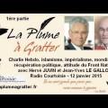 Charlie Hebdo, islam, immigration, identité, impérialisme et mondialisation – Radio Courtoisie (12 janvier 2015) – 1ère partie