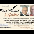 Charlie Hebdo, islam, immigration, identité, impérialisme et mondialisation – Radio Courtoisie (12 janvier 2015) – 2ème partie