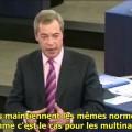 Nigel Farage : « La Commission européenne ressemble à un abattoir pour politiciens ratés » (19 décembre 2014)