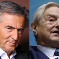 BHL et Soros... qui se ressemble s'assemble pour pousser à la guerre avec la Russie