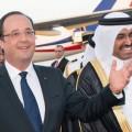François Hollande a enfilé sans broncher les babouches qataries dorées sur tranches de Nicolas Sarkozy. L'UMPS jusque dans les pétro-monarchies...