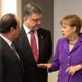 François Hollande et Angela Merkel sont-ils allés à Minsk pour instaurer la paix, ou pour sauver la mise à Porochenko et