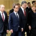 L'UE et le binôme Hollande-Merkel, entre atlantisme russophobe et pargmatisme de bonne volonté...