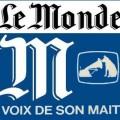 Le Monde, petit agent servile de la propagande atlantiste..