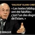 A propos du dialogue islamo-chrétien – Rémi Brague et Anne-Marie Delcambre (2009)