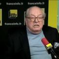 Jean-Marie Le Pen excellent sur France Info (05 février 2015)