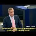 Nigel Farage : « L'Union Européenne est face à un tournant historique » (12 février 2015)