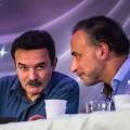 Edwy Plenel et Tarik Ramadan lors du débat  l'éthique comme philosophie première évoqué dans l'article...