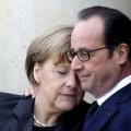 la fameuse photo Merkel-Hollande qui a tant ému nos médias, ou la victoire de l'émotionnel du spectacle contre la responsabilité du politique...