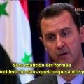 Situation en Syrie, rôles de l'Occident et de la France : entrevue de Bachar El Assad avec la télévision portugaise (04 mars 2015)