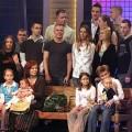 Annegret Raunigk lors d'une émission de télé réalité allemande, avec sa famille, suite à sa précédente grossesse... à 55 ans