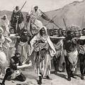 La traite arabo-musulmane, de loin la plus teerible et la plus meurtrière, mais totalement occulté par la bienpensance, la repe