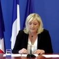 Conférence de Marine Le Pen, au retour de son voyage en Egypte (03 juin 2015)