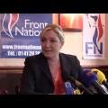 Point presse de Marine Le Pen sur la crise grecque (13 juillet 2015)