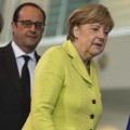 Merkel, Hollande, Junker