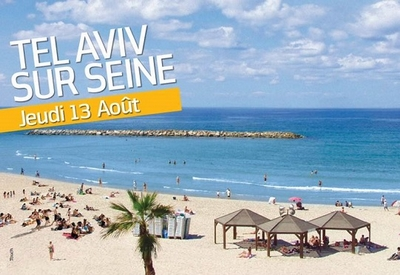 Tel Aviv sur Seine..
