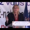 Rentrée politique de Marine Le Pen : le discours de Brachay (29 août 2015)
