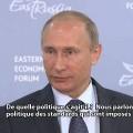 Vladimir Poutine : « La crise migratoire en Europe était inévitable »  – Par RT