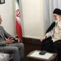 Bachar et Khamenei, symbole du soutien de l'Iran à la Syrie